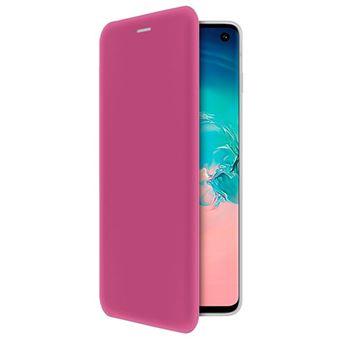 Capa 4-OK Book Shell para Samsung Galaxy S10 - Rosa