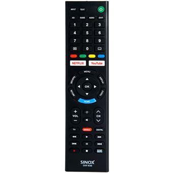 Comando Sinox para Televisores Sony