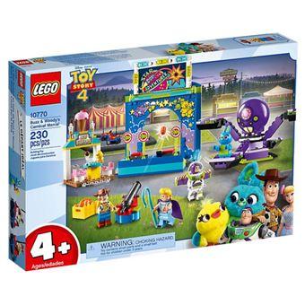 LEGO Disney Pixar Toy Story 4 10770 A Paixão pelo Carnaval de Buzz e Woody!