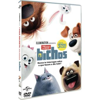 A Vida Secreta dos Nossos Bichos (DVD) - Chris Renaud