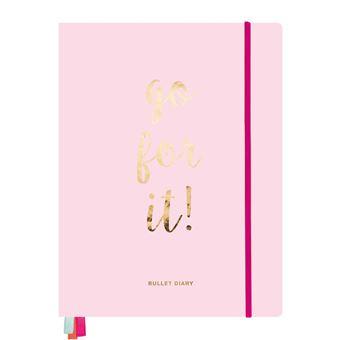 Bullet Diary A4 Rosa Do Art