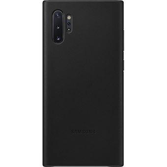 Capa Samsung Leather para Galaxy Note10+ - Preto