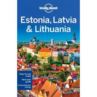 Lonely Planet Travel Guide - Estonia, Latvia & Lithuania