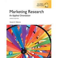 Marketing research: an applied orie