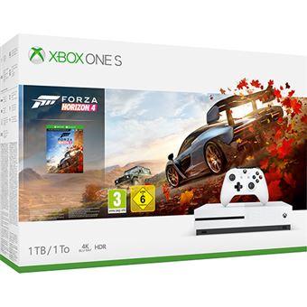 Consola Xbox One S - 1TB - Branco + Forza Horizon 4
