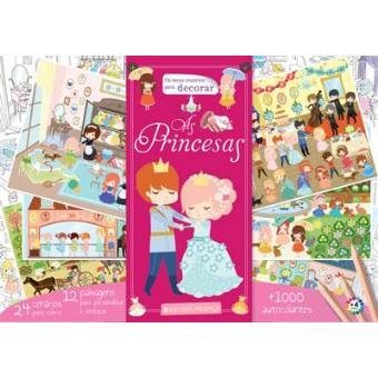 Cenários para Decorar - Princesas