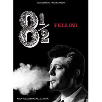 Fellini 8 ½- Versão Restaurada (DVD)