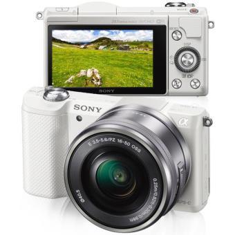 Sony Alpha α5000 + SEL1650 16-50mm f/3.5-5.6 PZ OSS (Branco)