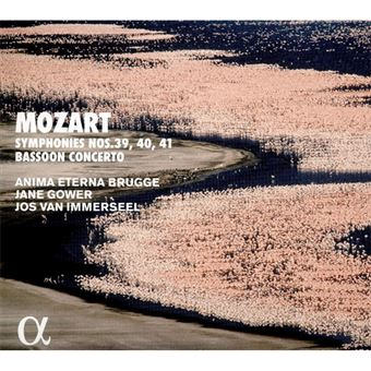 Mozart: Symphonien Nr.39-41 and Bassoon Concerto - 2CD