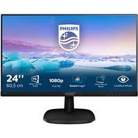 Monitor Philips 243V7QDSB 24/FHD/5MS preto