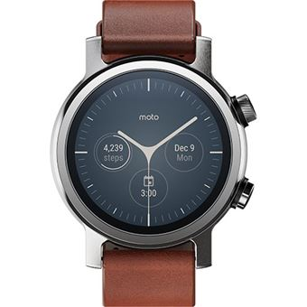 Smartwatch Motorola moto360 - Steel Grey