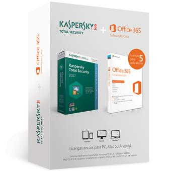 Microsoft Office 365 Casa + Kaspersky Total Security 17