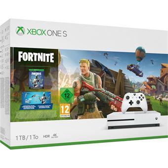 Consola Xbox One S 1 TB + Fortnite