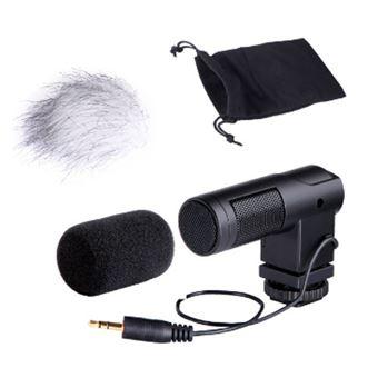 Mini Microfone Boya BYV01 Stereo