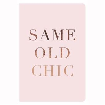 Agenda A6 Mid Year Ditrishop: Same Old Chic