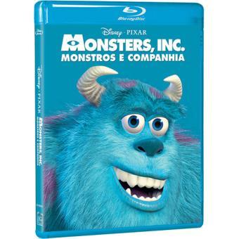 Monstros e Companhia - Edição Clássicos Disney - Blu-ray