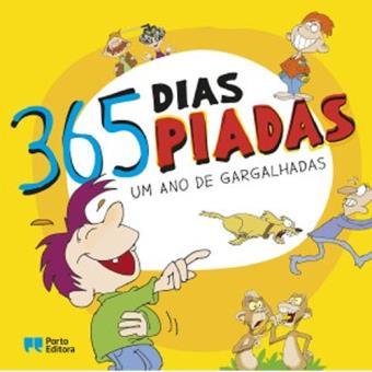 365 Dias, 365 Piadas - Livro 1: Um Ano de Gargalhadas