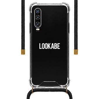 Capa LOOKABE para Huawei P30 Pro - Transparente | Fita Preto