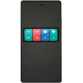 Wiko Capa Smart Folio Wiboard para Fever (Preto)