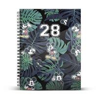 Caderno em Espiral Clássico Mickey - 28, A5