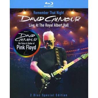 David Gilmour: Remember That Night - Live At The Royal Albert Hall 2006 (2BD)