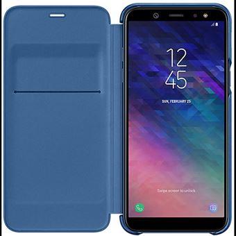 Capa Samsung Wallet para Galaxy A6 - Azul