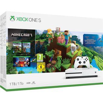 Consola Xbox One S 1TB + Minecraft