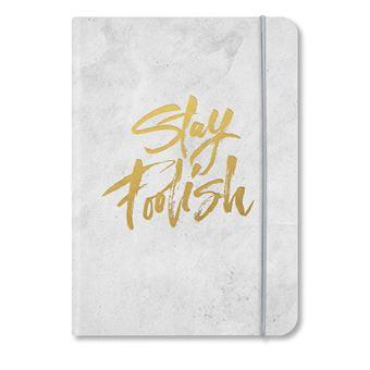 Caderno Liso TeNeues - Stay Foolish
