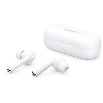 Auriculares Bluetooth True Wireless Huawei FreeBuds 3i com Cancelamento de Ruído Ativo - Branco