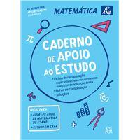 Caderno de apoio ao estudo - Matemática 6.º ano