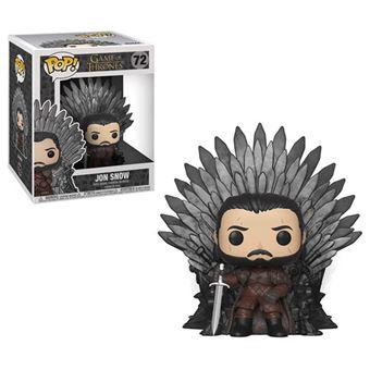 Funko Pop! Game of Thrones: Jon Snow Sitting on Iron Throne - 72