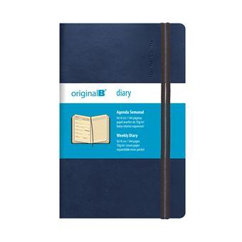 nueva llegada b5b8b 1ef0a Agenda Semanal 2020 Original B Bolso Azul