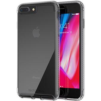 Capa Tech21 Pure Clear para iPhone 7+/8+ - Transparente