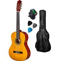 Pack Guitarra Clássica GEMMA P C Standard NAT 1/2