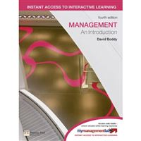 MANAGEMENT AN INTRODUCTION