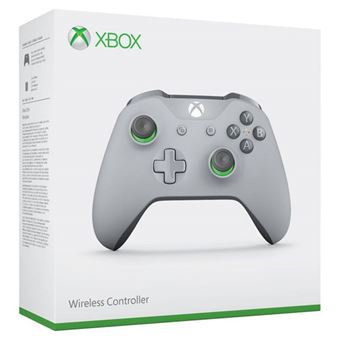 Wireless Controller - Grey|Green - Xbox One