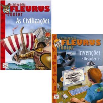 Enciclopédias Fleurus Júnior: Civilização e Invenções
