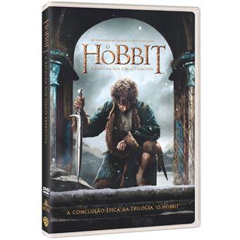 O Hobbit: A Batalha dos Cinco Exércitos - DVD