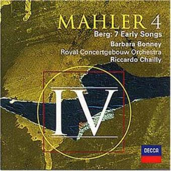 MAHLER-SINFONIA N./BERG-7 EARLY SON