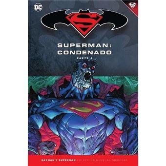 Superman condenado 4-dc-novelas gra