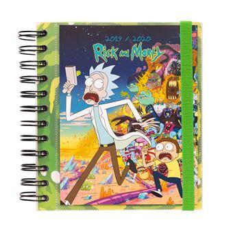 Agenda Escolar Mensal 2019-2020 Rick e Morty