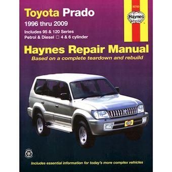 Toyota prado service and repair man