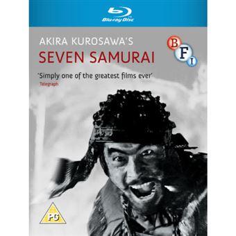 Seven Samurai - Blu-ray Importação