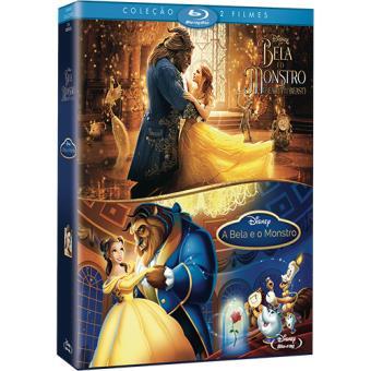 Pack A Bela e o Monstro - Imagem Real + Animação - Exclusivo Fnac (Blu-ray)