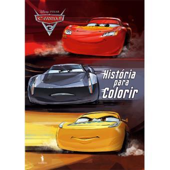 Carros 3 - História para Colorir