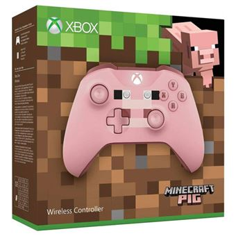 Wireless Controller - Minecraft Pig - Xbox One