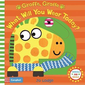 Giraffe, giraffe what will you wear