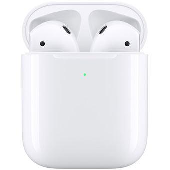 Auriculares True Wireless Apple AirPods 2019 com Caixa de Carregamento sem Fios
