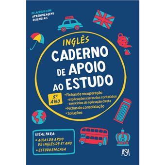 Caderno de Apoio ao Estudo - Inglês 5º Ano