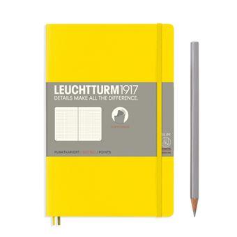 Caderno Pontilhado Leuchtturm Soft Bolso Amarelo